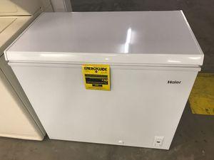 7cf Haier chest freezer still new! for Sale in Denver, CO