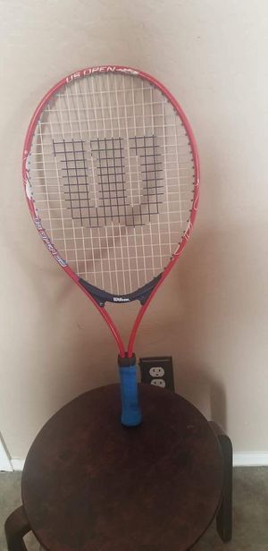 """Wilson US Open 23 Racquet 3 5/8"""" Tennis Racquetball Racket Red White for Sale in Gilbert, AZ"""