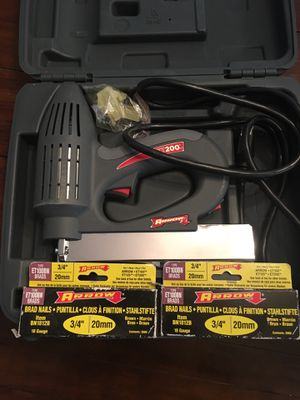 Arrow ET200 Electric Nailer for Sale in Gilbert, AZ