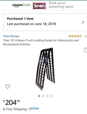 Motorcycle ramp for Sale in TX, US