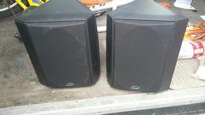 pair of polk audio fx300i bookshelf speakers for Sale in Hawaiian Gardens, CA