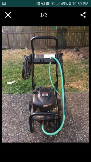 Briggs & stratton pressure washer for Sale in Mountlake Terrace, WA
