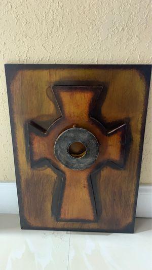 Vintage steel cross for Sale in Hialeah, FL