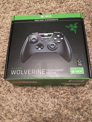 Razer Wolverine Tournament Edition Xbox One Windows 10 for Sale in Algonquin, IL