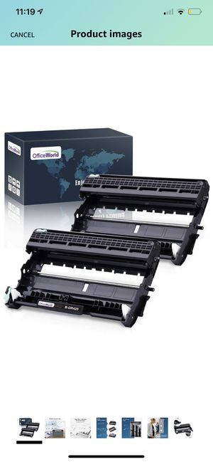 Pack)OfficeWorld Compatible Drum Unit Replacement for Brother DR420 DR-420 DR 420 for for Sale in Brooklyn, NY