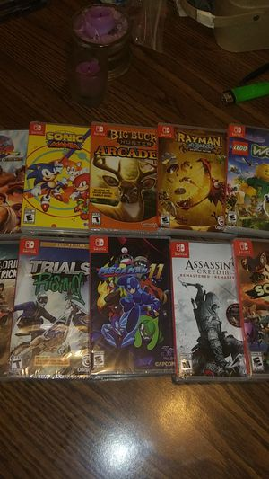Switch games. Lot. all brand new sealed 10 games for Sale in Edgewood, WA