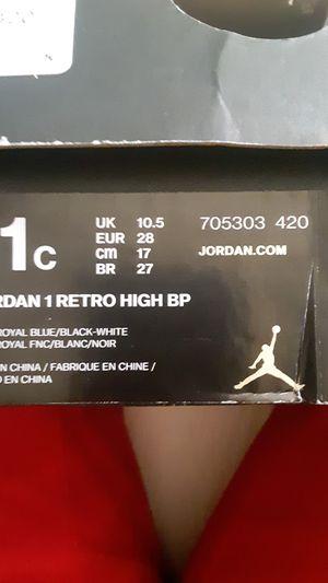 Kids jordan 1 retros for Sale in Buffalo, NY