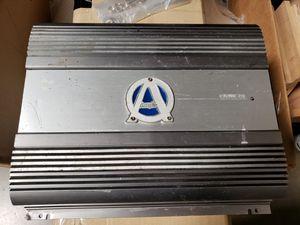 Ample audio 4ch amplifier amp old school fosgate orion mtx alpine kenwood Memphis diamond audio for Sale in Santa Ana, CA