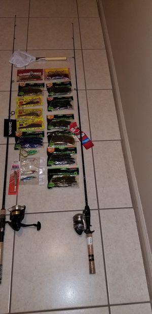 Brand New Fishing rods and reels with tackle for Sale in Coral Springs, FL