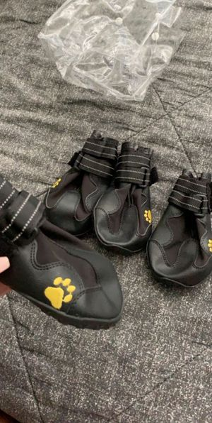 Waterproof dog shoes for Sale, used for sale  Bridgeport, CT