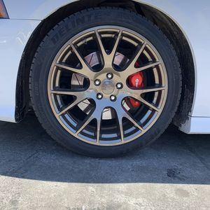 20 INCH HELLCAT REPLICA WHEELS FOR CHARGER CHALLENGER MAGNUM 300C SCATPACK 20X9.5 AND 20X11 for Sale in Oakland, CA
