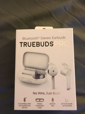 TruBuds Wireless Bluetooth Headphones for Sale in Hamilton Township, NJ