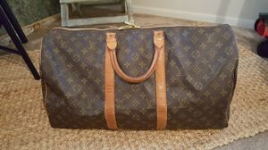 Louis vuitton keepall 50 bag for Sale in Puyallup, WA