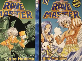Rave Master Manga 13 And 15 for Sale in Issaquah,  WA