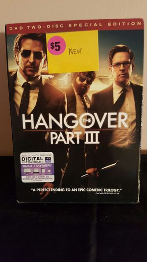 The Hangover Part III Special Edition DVD for Sale in Palmyra, VA