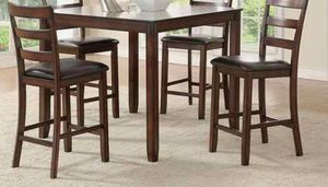 Brand new 5pc dining table set new furniture F for Sale in Pomona, CA