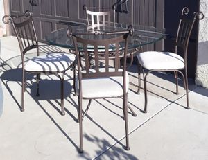 Wrought Iron Dining Set for Sale in Downey, CA