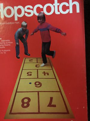 Hopscotch Board Game to get the kids out of the house !!! for Sale in San Mateo, CA
