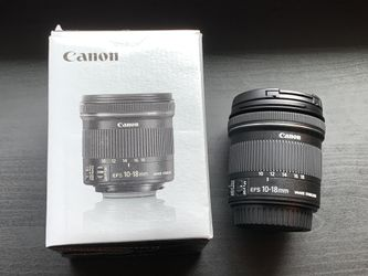 Canon 10-18mm f/4.5-5.6 IS STM EF-S Lens for Sale in Monroe,  WA