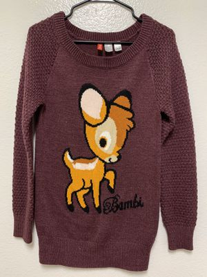 Disney Bambi Sweater for Sale in Santee, CA