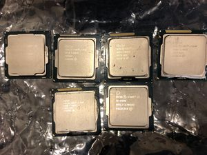 Processors Intel Chips, Core i7, i5 for Sale in Gilbert, AZ