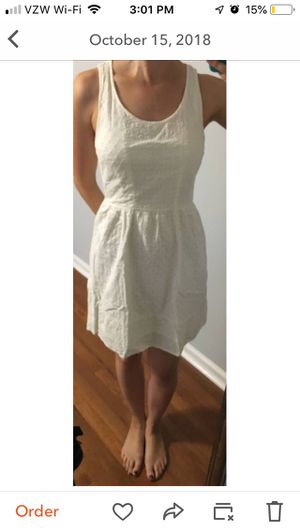 White Eyelet dress from American Eagle Size 2 for Sale in Lilburn, GA