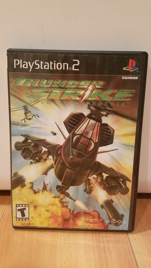 Thunder Strike Playstation PS2 Video Game for Sale in Lake Stevens, WA