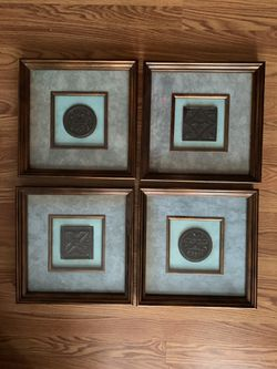 Home Decor (4 Pieces) for Sale in Bloomington,  IL