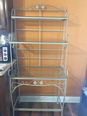 Large kitchen baker's rack - like new! for Sale in East Meadow, NY