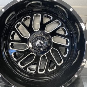 "22""Dodge Ram 3500 Fuel Wheels With MaxxPloit Tire 35x12.50R22LT (For Just The Wheels To Take $2350) (With Tires Installed And Everything $3900) for Sale in Tampa, FL"