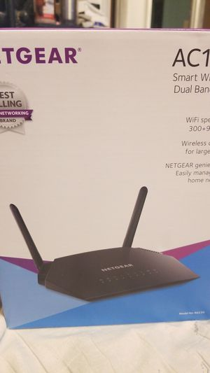 netgear dual band gigabit wifi router for Sale in Arvada, CO