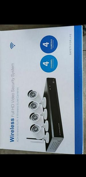 4 Wireless full HD 1080 camera system for Sale in Clermont, FL