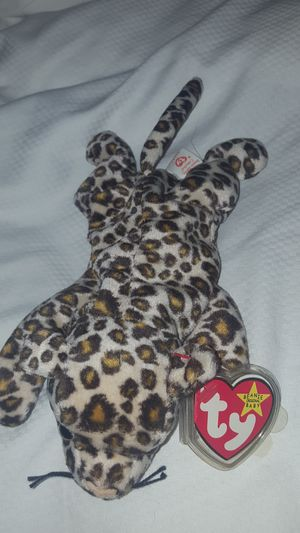 Freckles the leopard rare beanie baby for Sale in Irving, TX