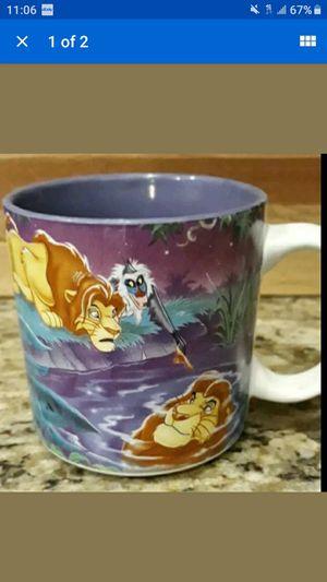 LION KING COFFEE MUG for Sale in Las Vegas, NV