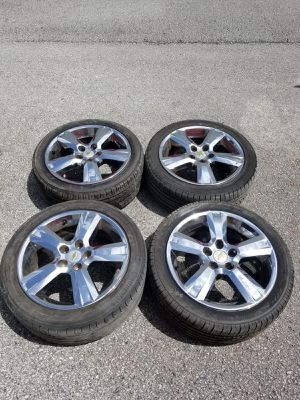 Rims 17 Chevrolet 5 lugs 110 mm for Sale in Fort Lauderdale, FL
