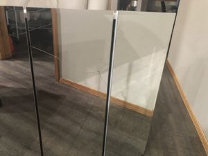 "Free Pathroom Cabinet ( 30 "" X 30 "" ) ( mirror cracked) for Sale in Lynnwood, WA"