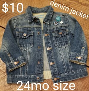 Brand new boys denim jacket! for Sale in Vancouver, WA