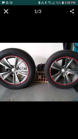 Sport Muscle Tach 18x8 wheels/tires for Sale in Normal,  IL