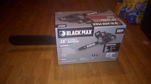 """BlackMax 16"""" 2 cycle Chainsaw ,Brand New in the box. for Sale in Fontana, CA"""