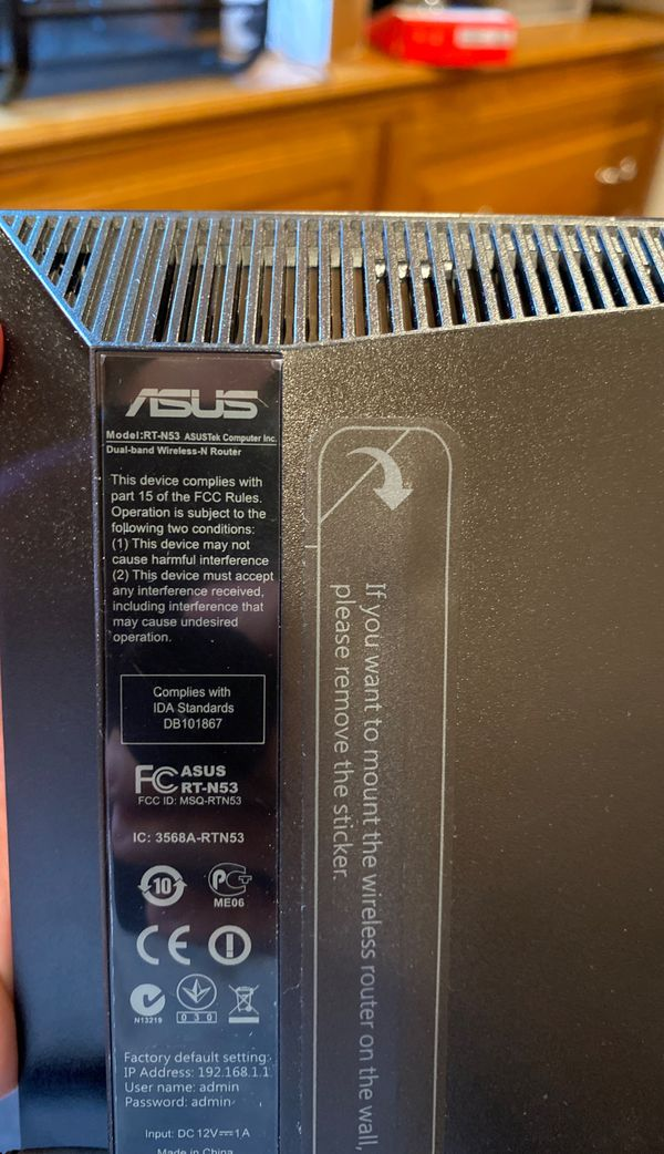 ASUS RT-N53 300 Mbps 4-Port 10/100 Wireless N Router