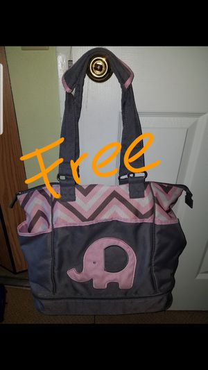 Elephant diaper bag with changing mat for Sale in South San Francisco, CA