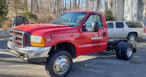 2000 Ford F450 Super Duty Chassis and Cab 7.3l V8 f Diesel REAR Wheel Drive Car Runs 100% Automatic Good tires $6800 for Sale in Danbury, CT