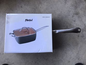 BRAND NEW UNOPENED Square copper pan with lid for Sale in Ontario,  CA