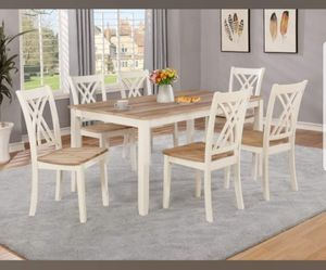 TABLE AND SIX CHAIRS BRAND NEW for Sale in Scottsdale, AZ