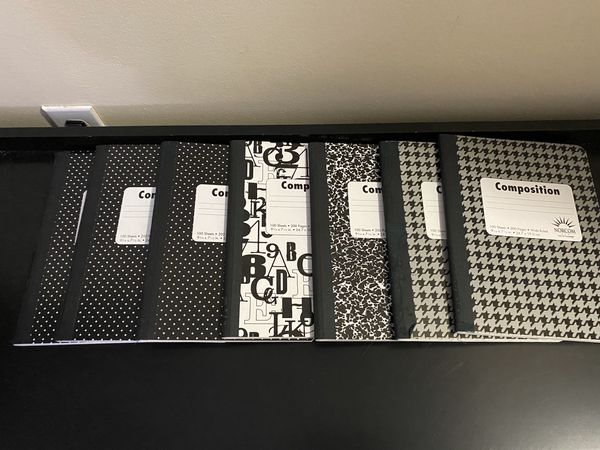 Composition Books for School 7 in total