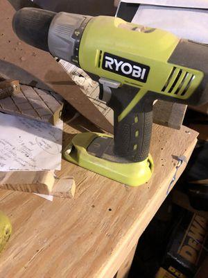 Ryobi drill for Sale in Seekonk, MA