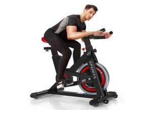 OUNUO Exercise Bikes (2020 New Version), Indoor Cycling Bike, Stationary, Bidirectional Flywheel, Silent Belt Drive, Infinite Resistance, LCD Displays for Sale in Rancho Cucamonga, CA