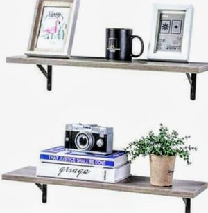 """Floating wall shelves,one set (Dimensions: 23.6 """"Length × 7.9"""" width × 4.3 """"height.)( Brand New) for Sale in Ontario, CA"""