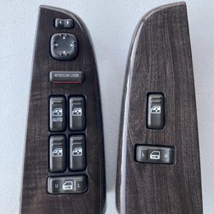 00-02 GMC YUKON DENALI TAHOE 1500 Driver Door L&R Power Window Switch Set for Sale in Austin, TX