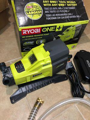 Ryobi 18v hybrid transfer pump (only tool) for Sale in Dallas, TX